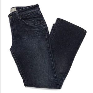 Duarte Womens Jeans Size 29 Dark Wash Straight Leg